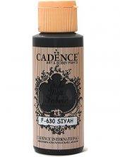 Cadence Kumaş Boyası F 630 Siyah 59ml