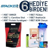 Stacker2 100 Whey Protein Çikolata 2000 Gr 6 Hediye