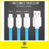 Asus Zenfone Laser Ze 601kl Baseus 3in1 Usb Kablo Type C