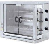 Gazlı Piliç Pişirme Makinesi