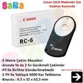 Canon 7d Mark Iı İçin Rc 6 Rc6 Kablosuz Uzaktan Kumanda