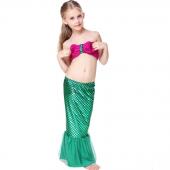 Denizkızı 3 Parça Sıradışı Kostüm Bikini