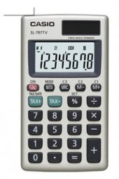 Casio Sl 797tv Gd W Dp (Ph) 8 Hane Cep Hesap Makinesi