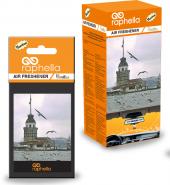 Bargellodan Raphella Vanilya Kağıt Araç Kokusu 24lü Paket