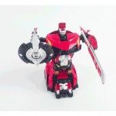 Vardem Transformers Gibi Tek Adımda Dönüşebilen Metal Robot