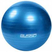 Busso Pilates Topu Kutulu Mavi 65 Cm Gym65 Mf