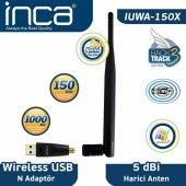 ınca Iuwa 150x 150 Mbps 11n 5dbi Anten Wireless Adaptör