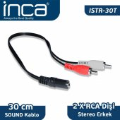 ıstr 30t Inca Audio 2 Rca Stereo 30 Cm Kablo