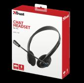 Trust 21669 Chat Mikrofonlu Kulaklık