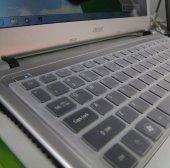 Acer Aspire M5 481g Klavye Silikon Kılıfı Koruyucu