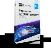 Bıtdefender Internet Securıty 2018 1 Kullanıcı 1 Yıl