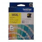 Brother Lc565xl Y Sarı 1200 Sayfa Kartus Mfc J3720