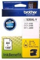 Brother Lc535xl Y Dcp J105 & Mfc J200 Sarı Kartus 1300 Sayfa