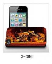 Iphone 4 4s Uyumlu Üç Boyutlu (3d) Arka Kapak Yanan Motor