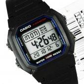 Casio W 800 Takvimli Işıklı Alarmlı Dijital Spor Erkek Kol Saati