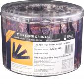 Orıental Stick Şeker Silindir Kutu 180 Adet 720gr İzpak