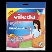 Vileda Style 3lü Mikrofiber Temizlik Bezi
