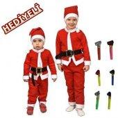 Erkek Çocuk Noel Baba Kostümü+1 Adet Kaynana Dili Hediyelidir
