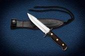 Bora M 426w Jackal Testereli Wenge Saplı Bıçak