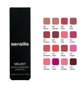 Sensilis Velvet Satin Comfort Lipstick Yoğun Nemlendirici Ruj 214