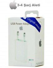 Apple İphone 4 4s Şarj Aleti Ve Data Kablosu