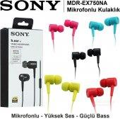 Sony Mdr Ex750na Stereo Spor Kulakiçi Mikrofonlu Kulaklık Mp3