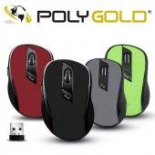 Polygold Kablosuz Optik Mouse Wireless Maus Fare 1...