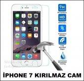 Apple İphone 7 Kırılmaz Ekran Koruyucu Tamperli Kırılmaz Cam