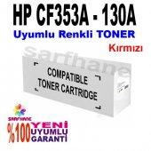 Hp Pro M176 M177 Kırmızı Muadil Toner Cf353a 130a