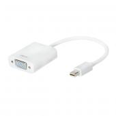 Logilink Cv0038b Mini Displayport V1.2 To Vga Dönüştürücü, Aktif