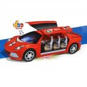 ışıklı Müzikli Hareketli Oyuncak Süper Araba 23cm