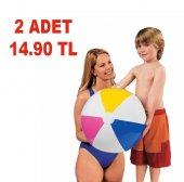 2 Adet İntex 59010 Renkli Havuz & Deniz Topu 41 Cm.