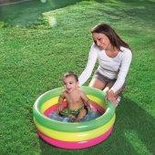Bestway 51128 Bebekler İçin 3 Boğumlu Şişme Havuz
