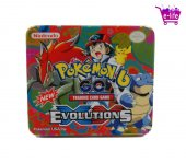 Metal Kutulu Orijinal Pokemon Go Oyun Kartları Pk98 (87 Adet)
