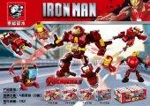 Tiger 71111 Iron Man Oyuncak Lego Seti (4 Farklı Seçenek)