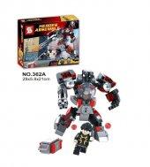 Sy362a Yenilmezler Ultron Lego Seti Karınca Adam Dev Boy
