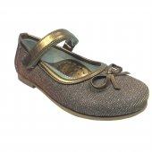 Tıpış Tıpış Cici Bebe Kız Çocuk Abiye Babet Ayakkabı Simli Parlak