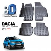 Dacia Sandero Stepway Havuzlu 3d Paspas
