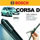 Opel Corsa D 2006 2014 Bosch Muz Silecek Seti