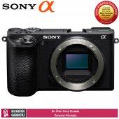 Sony A6500 Premium E Mount Aynasız Fotoğraf Makinesi (Gövde)