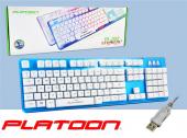 Pl 352 Oyuncu Işıklı Usb Kablolu Klavye Game Gaming