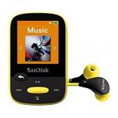 Sandisk Clip Sport 8gb Mp3 Player, Yellow