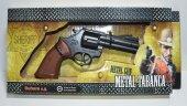 Kapsül Atan Metal Oyuncak Tabanca Oyuncak Silah