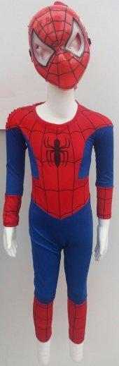 1 Adet Orjinal Örümcek Adam(Spiderman) Kostüm (3 9yaş)