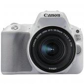 Canon Eos 200d Ef S 18 55mm Is Stm Dslr Fotoğraf Makinesi Beyaz