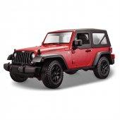 Maisto 2014 Jeep Wrangler 1 18 Model Araba S E Kırmızı
