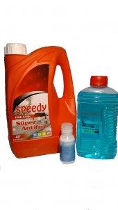 Kırmızı Organik Süper 40 Antifriz+silecek Sabunu+cam Suyu+buz K