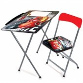 Cars 3 Çalışma Masası Ve Sandalye