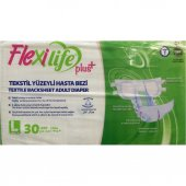 Flexılıfe Plus Hasta Bezi Tekstil Yüzey Large 30 Adet