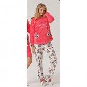 Aqua 18062 Bayan Polar Pijama Takımı